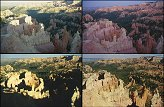 Four Times Bryce Canyon on 4 diffrent ours of the day.